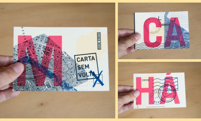 ポストカードデザイン制作例3