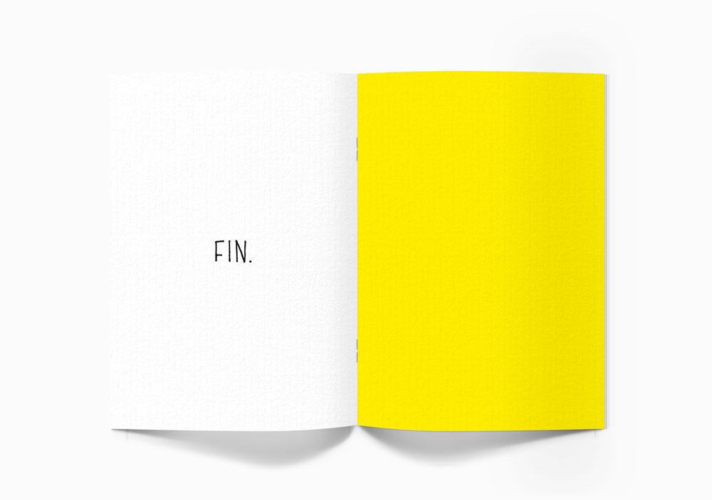 ブックレットデザインの裏表紙