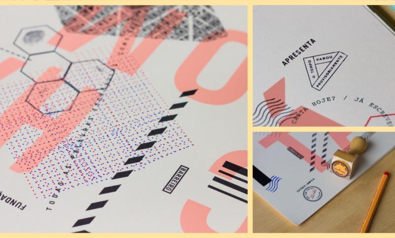 ポスターデザインの制作風景5