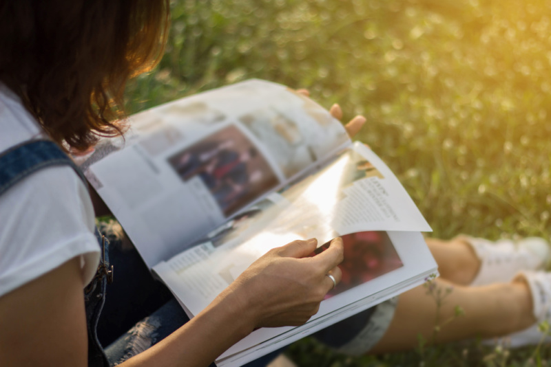 雑誌デザインの基本
