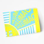 清潔感のあるフレッシュな感覚が心地良い、オランダのポスター・チラシ・パンフレットデザイン