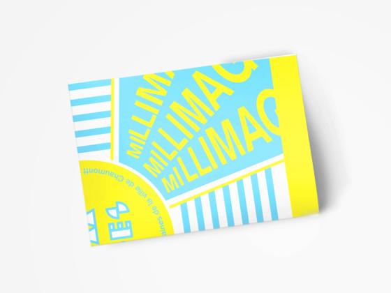オランダのポスター・チラシ・パンフレットデザイン