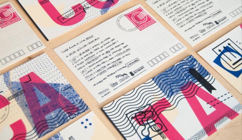 ポストカードデザイン制作例2