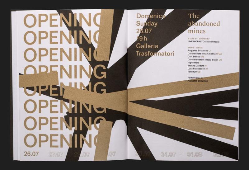 ブックレットのデザイン制作例2