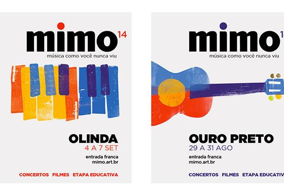 舞台芸術やフェスを告知するポスター・チラシデザイン