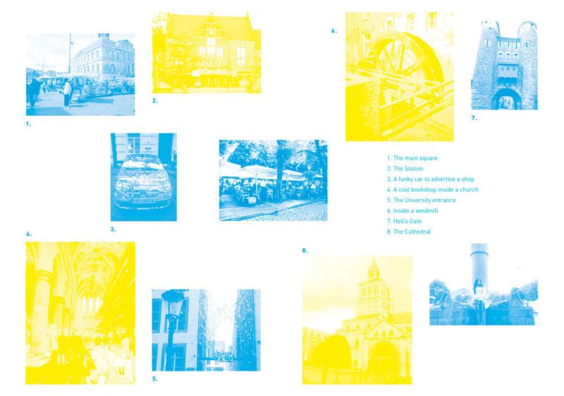 ブックレットデザイン中面1