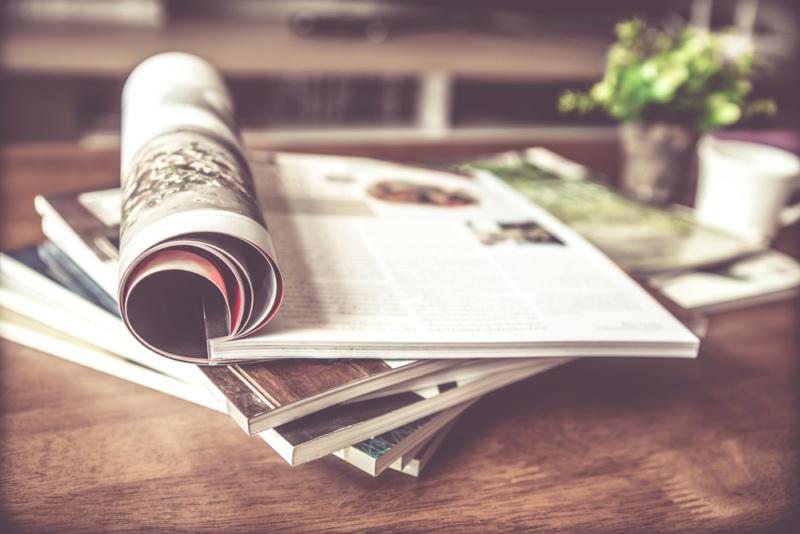 雑誌の見方