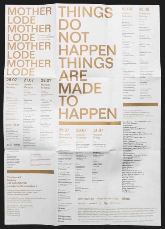 イベントの折ポスターデザイン2
