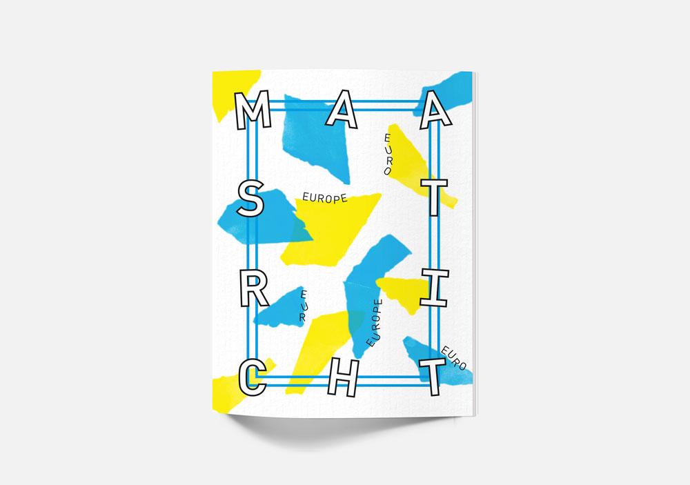 ブックレットデザイン作成例