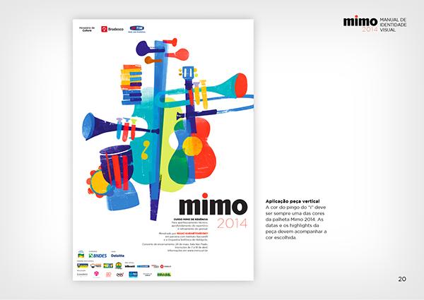 MIMO2014のポスターデザイン