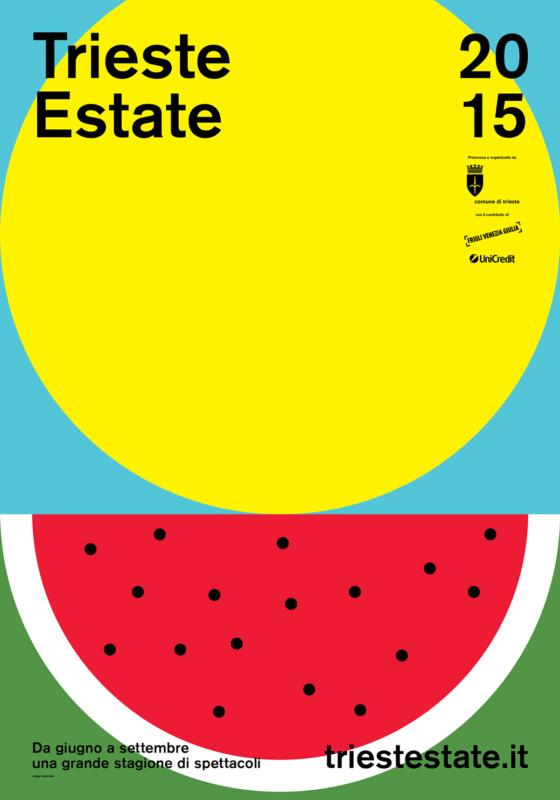 サマーフェスティバルのポスター作成例1