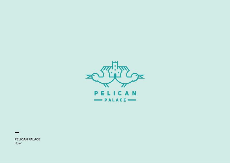 ペリカンのロゴ
