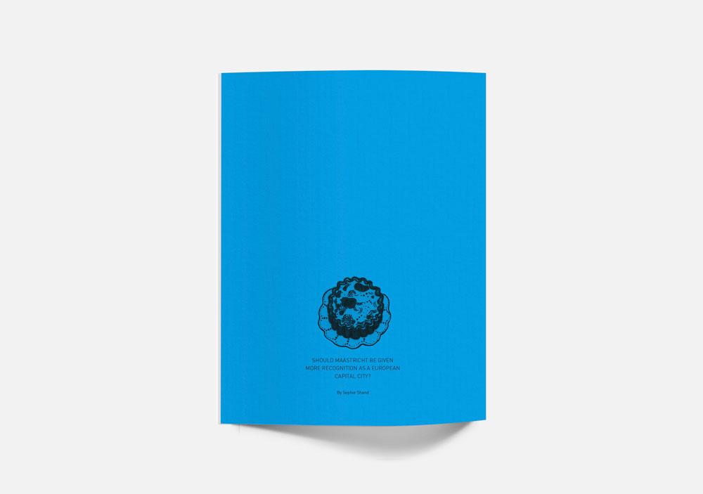 ブックレットデザインの裏表紙2