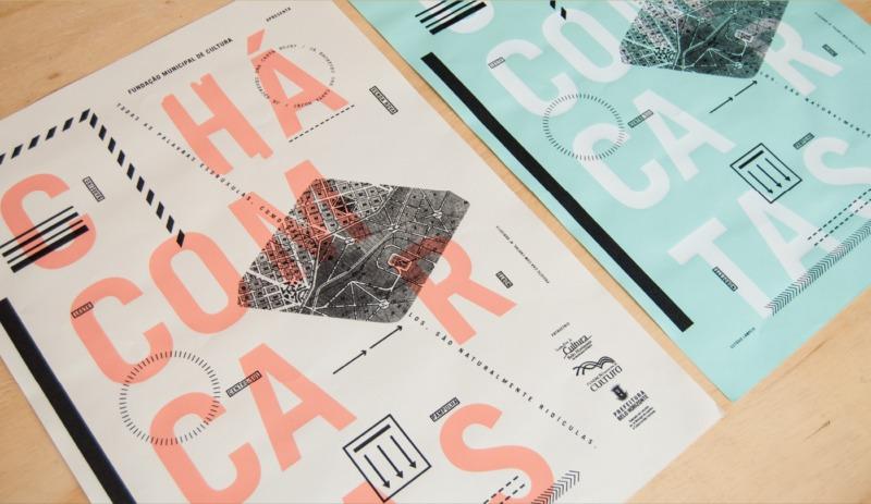 手紙がテーマのポスターデザイン