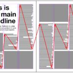 雑誌(パンフレット)の見開きデザインの基本