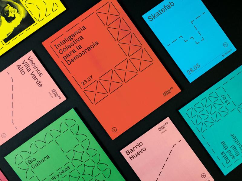 アートセンターのチラシ&ポスター作成例1