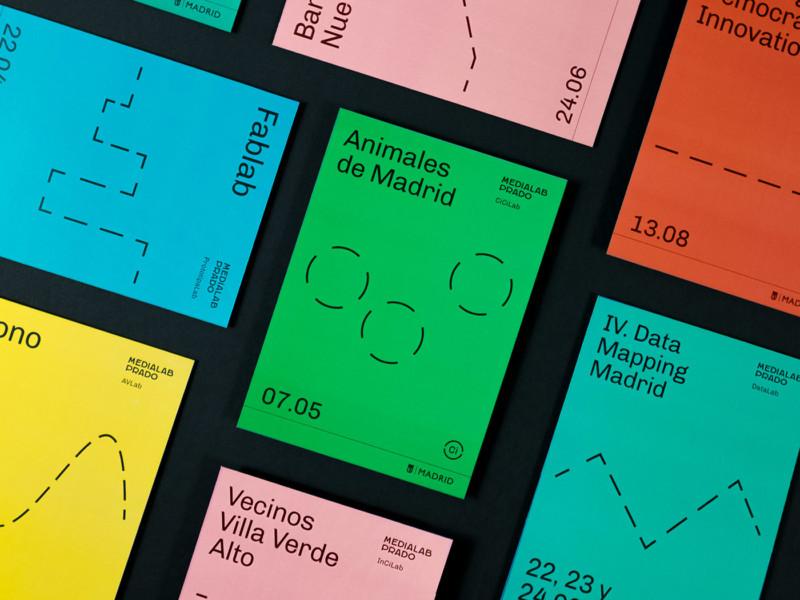 スペインのポスター&チラシデザイン