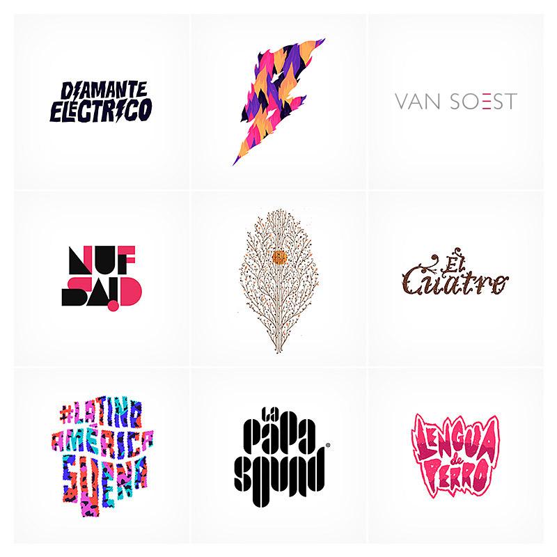 バンド・音楽に関わる自由なロゴデザイン