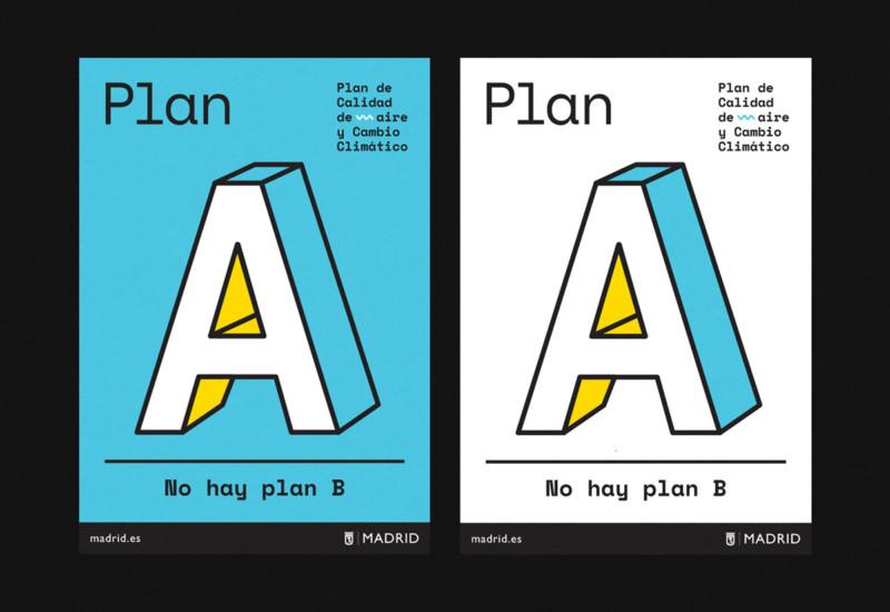 環境問題を訴えるポスターデザイン作成例