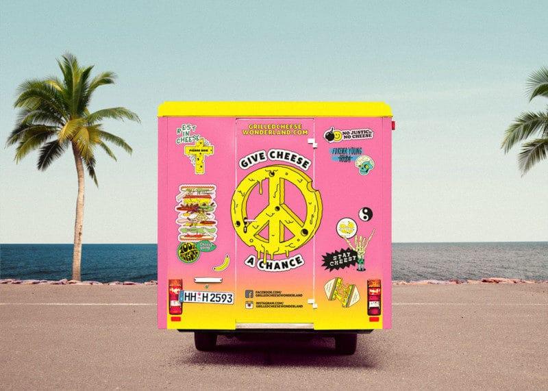 フードトラックのロゴデザイン2