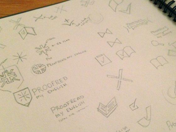 ロゴデザイナーたちのスケッチブック