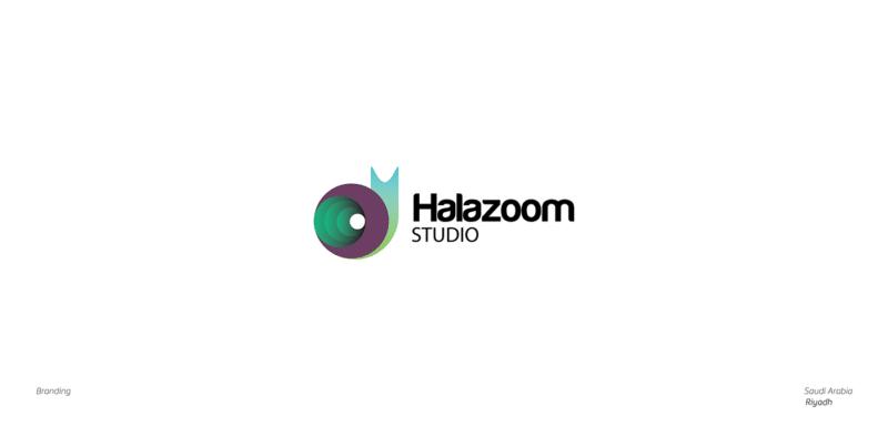 幾何学シンボルの企業ロゴ制作例5
