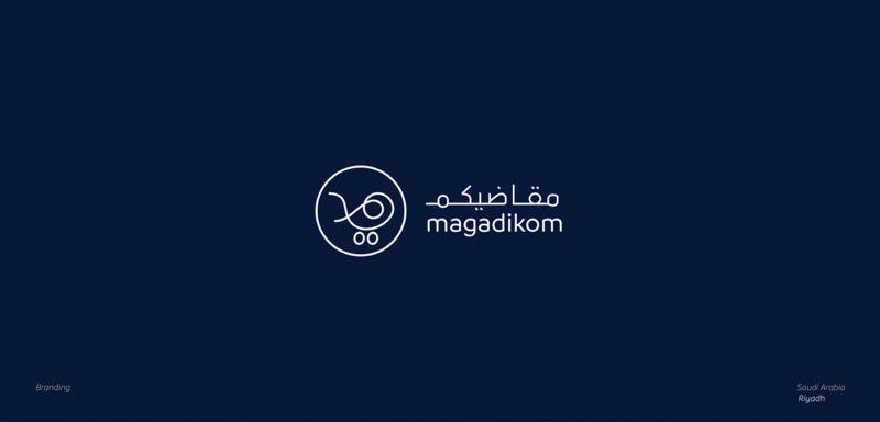 幾何学シンボルの企業ロゴ制作例1