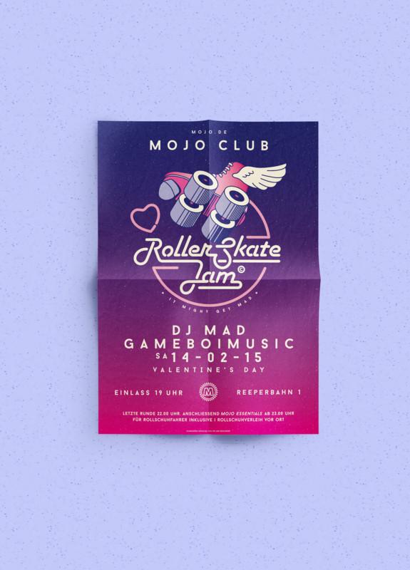 音楽イベントのポスター2