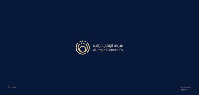 幾何学シンボルの企業ロゴ制作例7