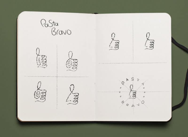 イタリア料理店のロゴの作り方