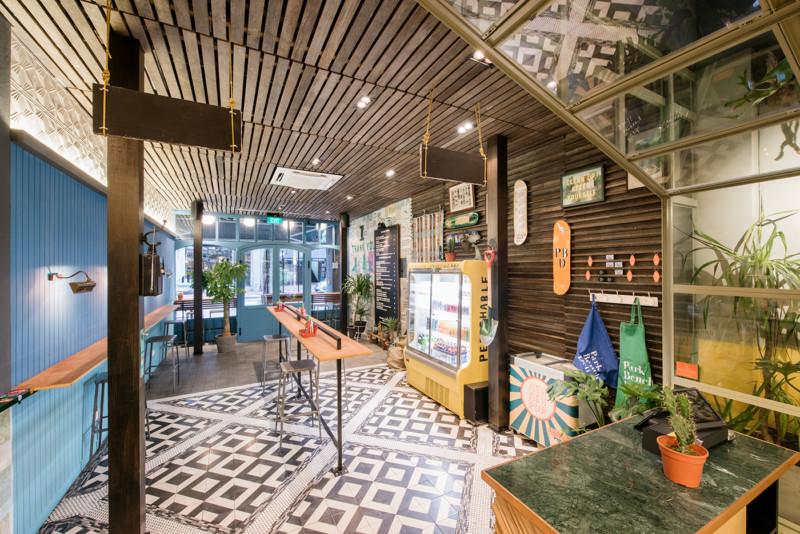 レストランの内装デザイン