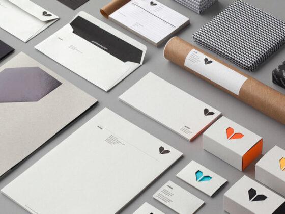 シンプルかつデザイン性の高いロゴデザインの制作例