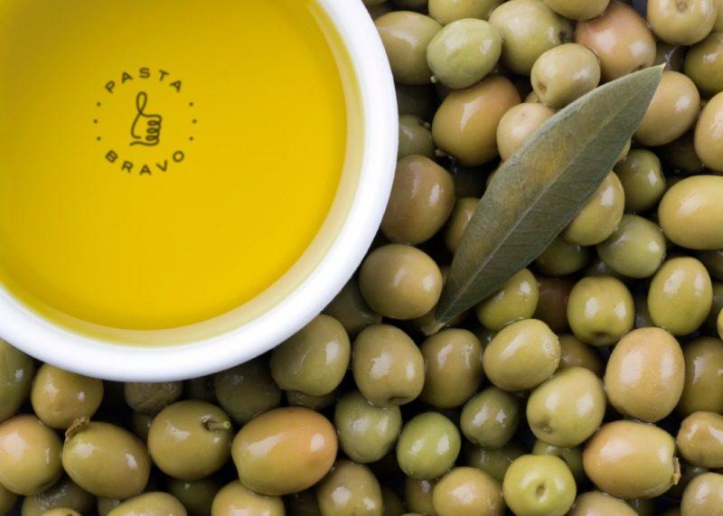 イタリア料理店のロゴ制作例