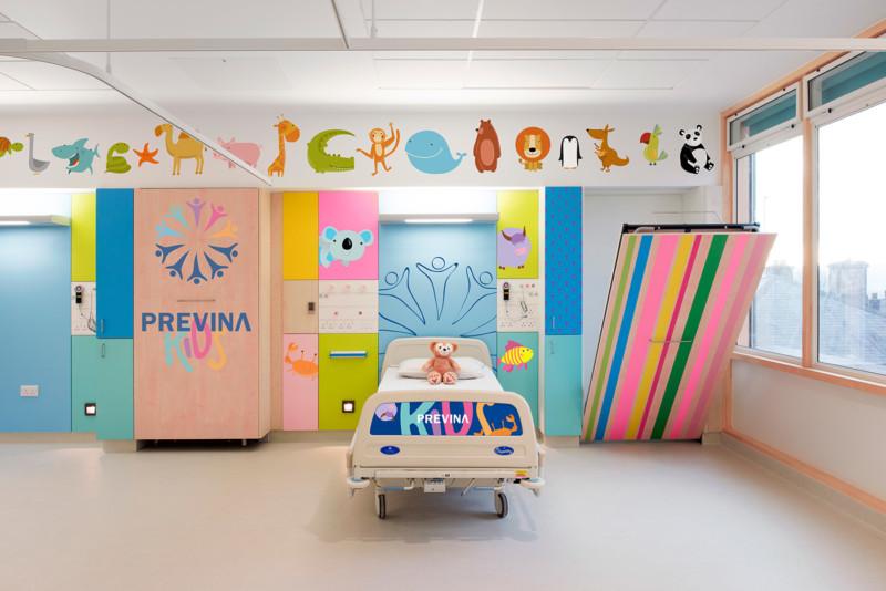 小児病棟の内装デザイン2