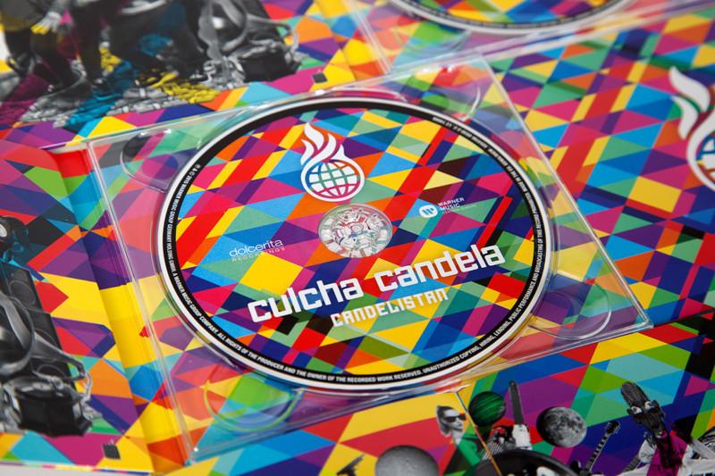 CD盤面のデザイン