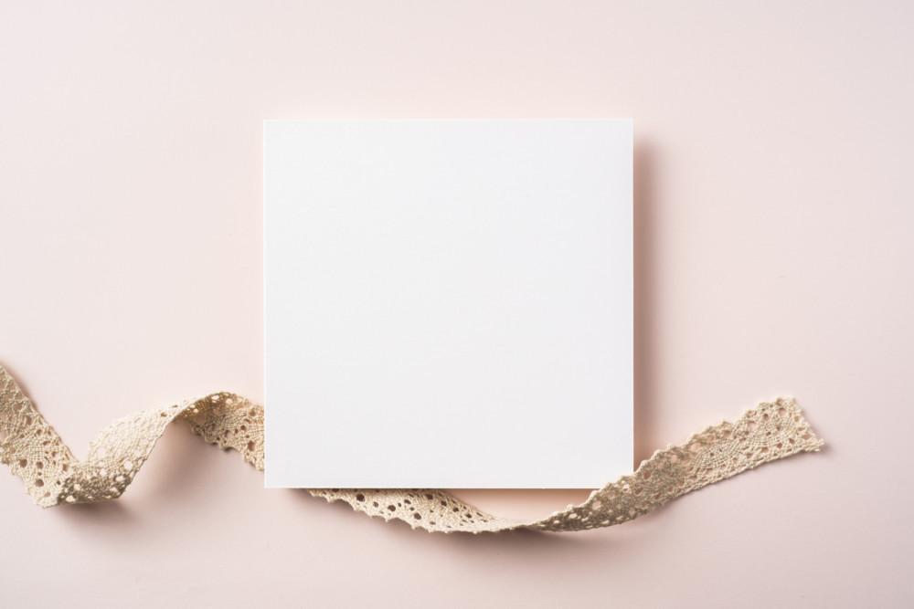 正方形の海外ショップカード・名刺デザイン制作例について