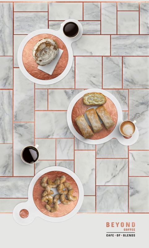 カフェのブランディングデザイン2