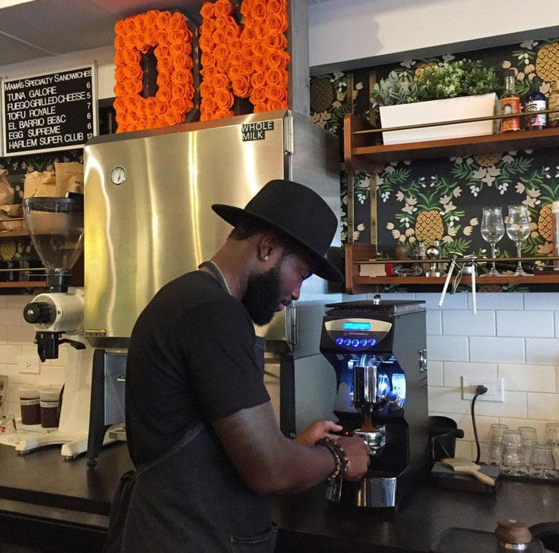カフェの店内イメージ