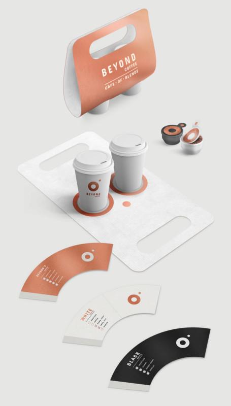 カフェのブランディングデザイン1