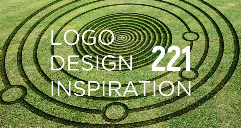 サークルを使用した三つのロゴデザイン