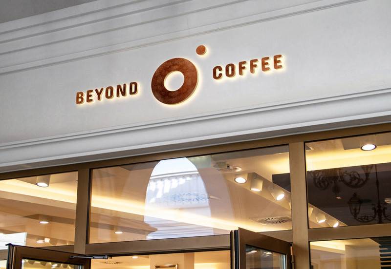 カフェのロゴデザインとブランディング