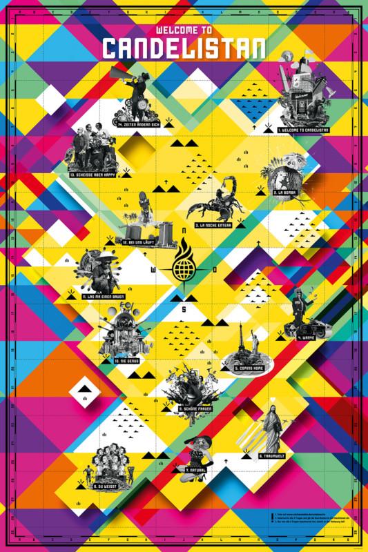 グループのポスターデザイン