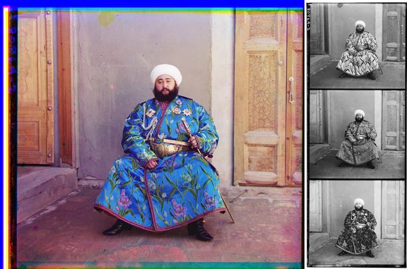 セルゲイによるカラー写真