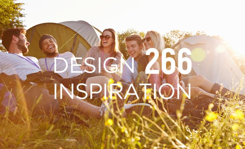 キャンプイベントのデザイン作成事例