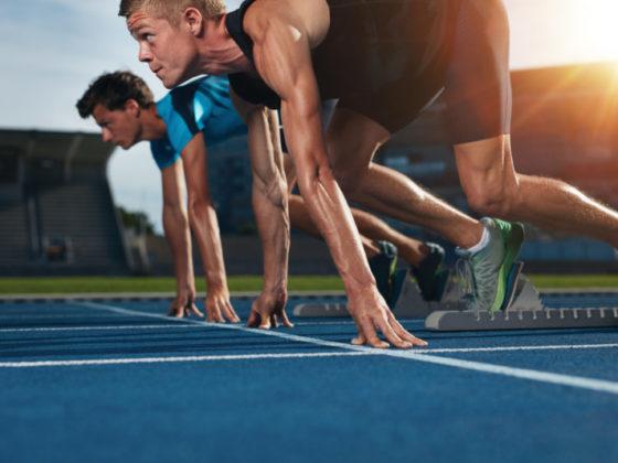 オリンピックにまつわる広告デザイン
