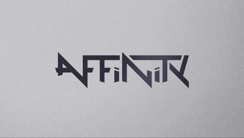 バンドのロゴ作成例