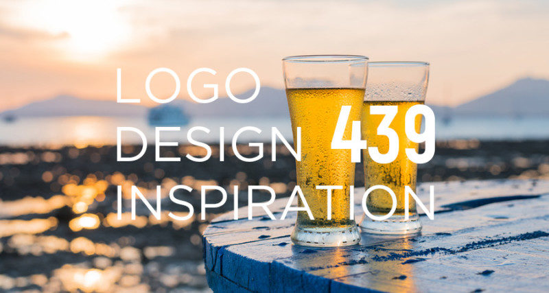 ビールをモチーフにしたロゴデザイン作成例