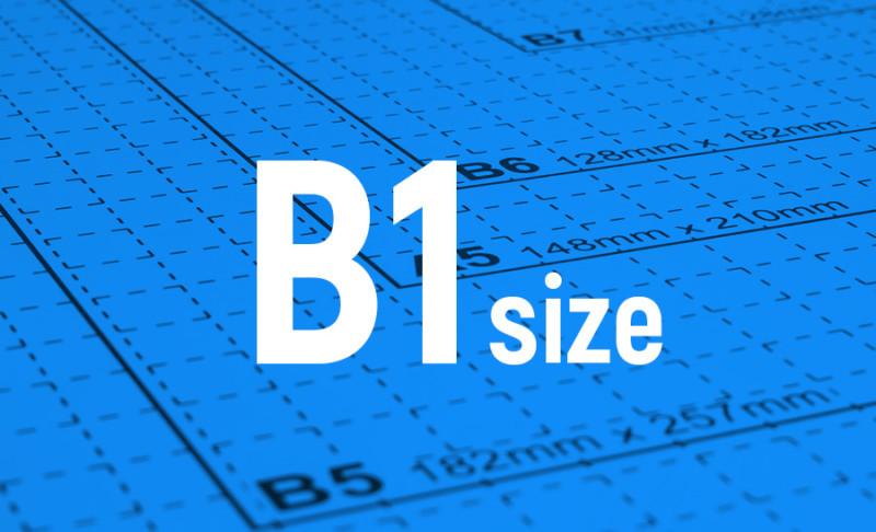 用紙サイズ-B1