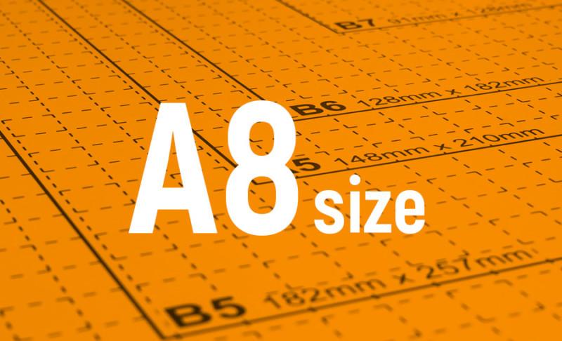 用紙サイズ-A8