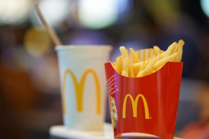マクドナルドの企業ロゴ2